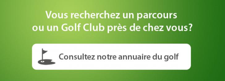 annuaire parcours golf
